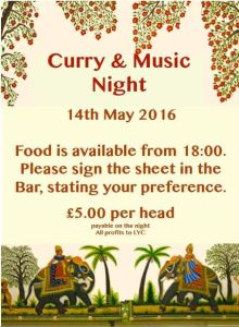 Curry & Music Night