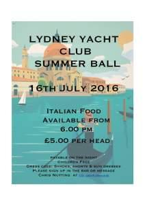 LYC Summer Ball 2016